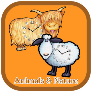 Animal and Nature Clocks
